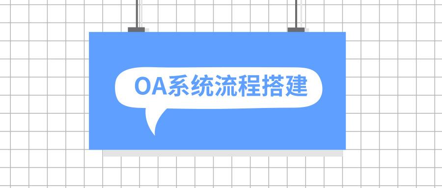 泛微OA系统智能搭建流程